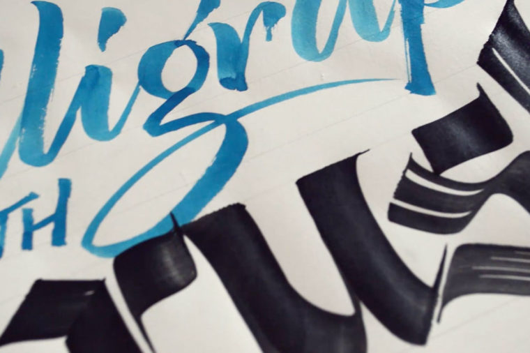 Calligraphy with Brush 6