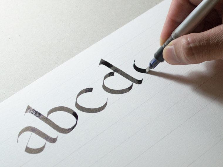 Flat Pen Letters 1