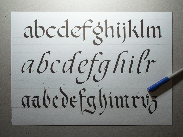Flat Pen Letters 2