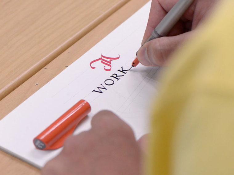 Flat Pen Letters 5